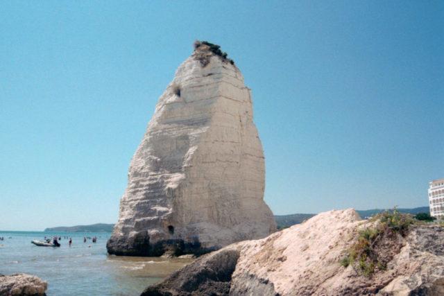 Formacja skalna Pizzomunno Vieste