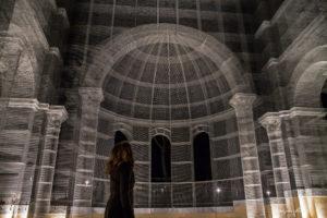 Bazylika w Siponto. Rekonstrukcja bazyliki wczesnochrześcijańskiej.